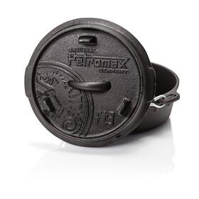 Petromax Garnek żeliwny  bez nóżek 3 czarny